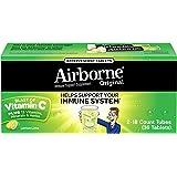 Airborne Lemon Lime Effervescent Tablets, 36 count - 1000mg of Vitamin C - Immune Support Supplement