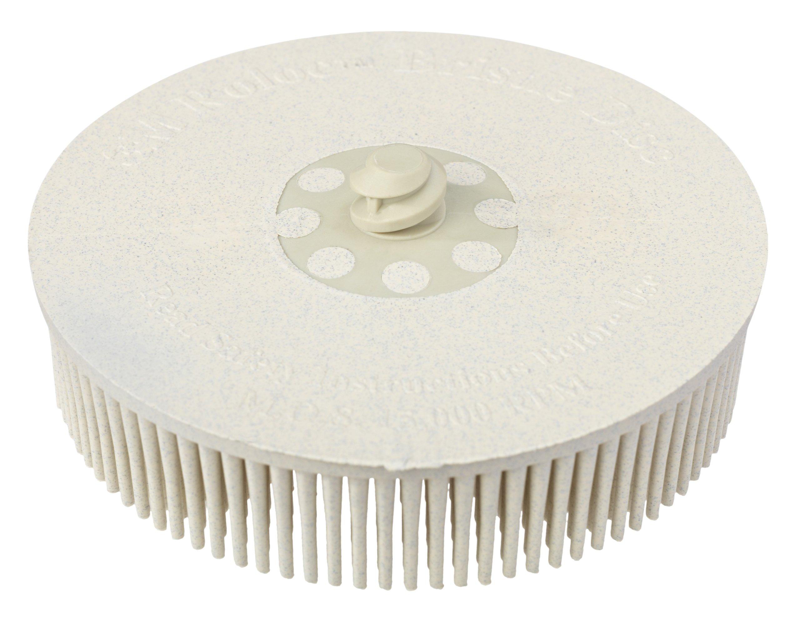 3M 07529 Roloc Bristle Disc, White