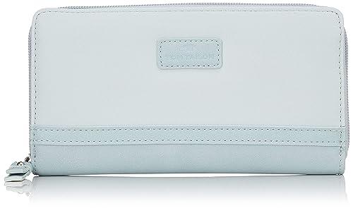 6297cbd6a2226 TOM TAILOR für Frauen Taschen   Geldbörsen Damenbörse Elin hellblau light  blue