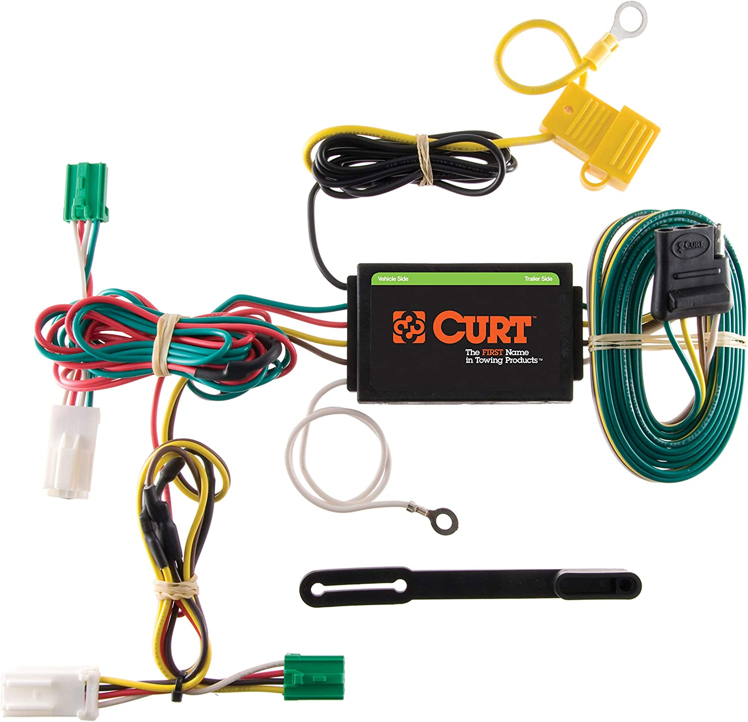 CURT 56135 Vehicle-Side Custom 4-Pin Trailer Wiring Harness for Select Dodge Charger