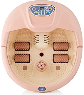 ArtNaturals Bañera Hidromasaje Para Pies - Foot Spa Massager with Heat and Bubbles - Terapia Magnética