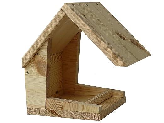 Bauanleitung Bauplan Vogelhaus Futterhaus Aus Holz Zum Selber Bauen Und  Basteln Mit Sägetipps: Amazon.