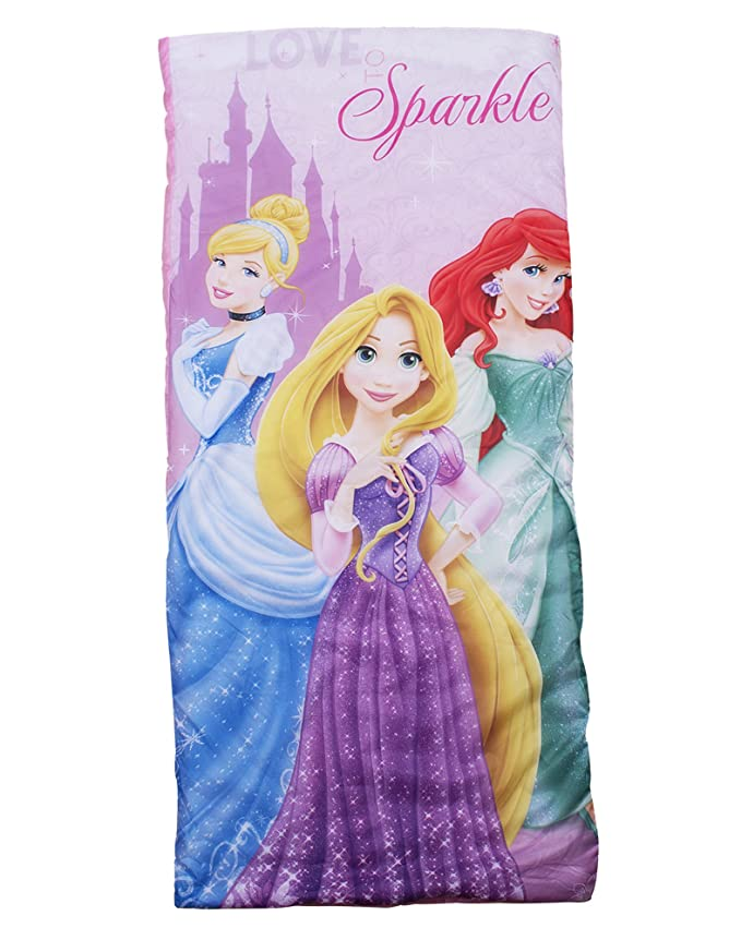 Disney - Saco de Dormir Infantil, diseño de Princesas: Amazon.es ...