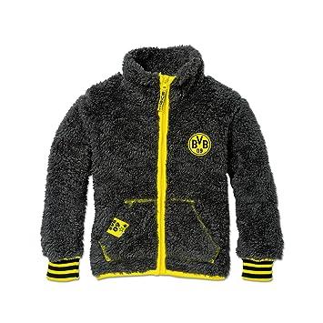 abe535c3ff BVB-Teddyjacke für Kleinkinder 98: Amazon.de: Sport & Freizeit