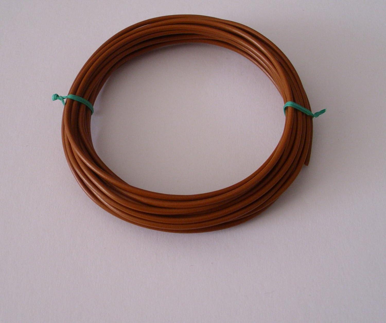 /€ 0,58//m w. L/ängen siehe Beschreibung 10m 1,5mm/² Kfz Kabel Litze Flry Braun