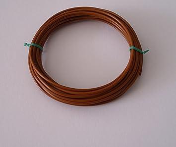 Fahrzeugleitung 2,5 mm/² FLRY-B als Ring 10m braun
