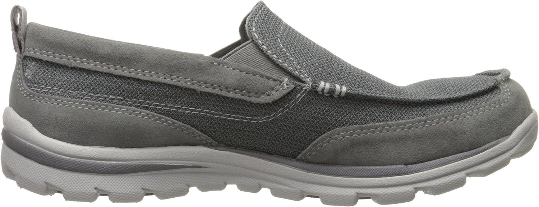 Skechers Men's Superior Milford Slip-On Loafer Charcoal