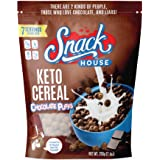 Snack House Puffs High Protein Low Carb Keto Snacks | Gluten Free, Soy Free, Peanut Free - No Sugar Added, Sweet Diet Food fo
