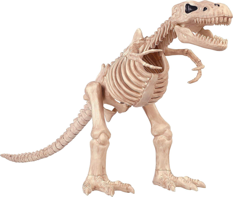 Amazon Com Crazy Bonez T Rex Skeleton Toy Toys Games