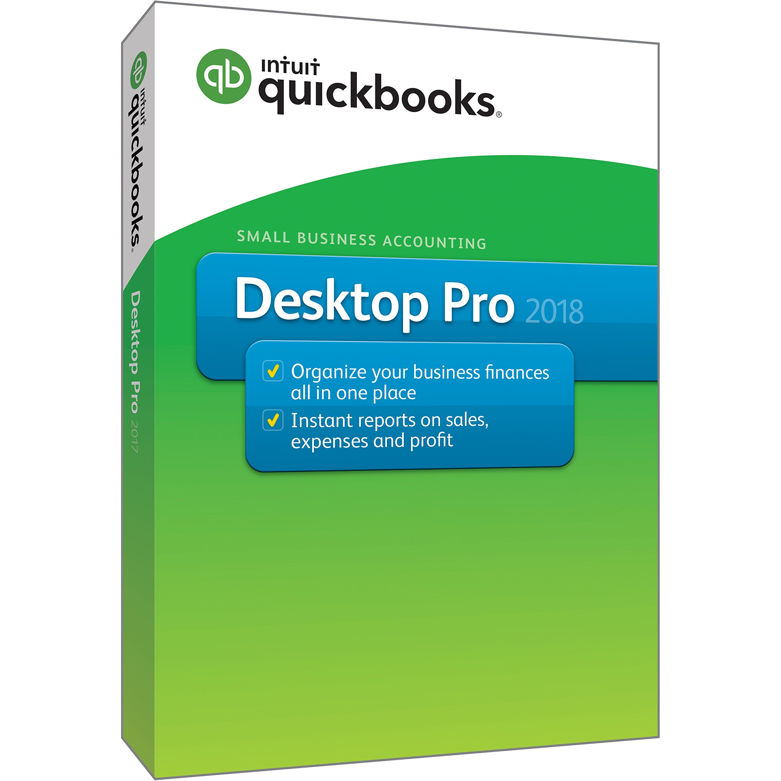 QuickBooks Desktop Pro 2018 [PC Disc] [OLD VERSION] by Intuit