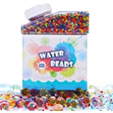 AFALA Water Beads (50000 beads) Rainbow Mix Jelly Water Growing Balls for Kids Tactile Sensory Toys, Vase Filler, Plants, Home Decoration