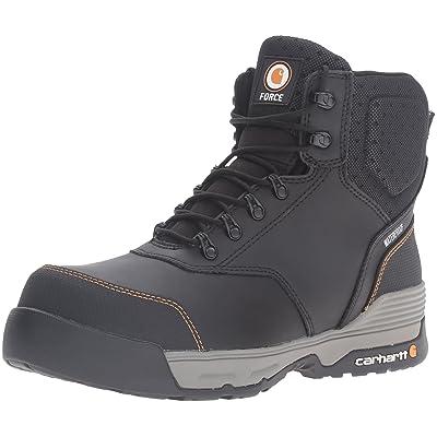 "Amazon.com   Carhartt Men's 6"" Force Lightweight Waterproof Composite Toe Work Boot CMA6381   Industrial & Construction Boots"