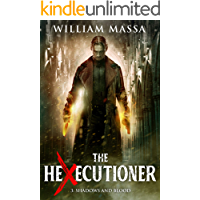 Shadows and Blood (The Hexecutioner Book 3) book cover