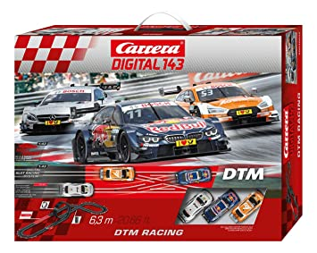 160af5a602cb Carrera Digital 143-DTM Racing Circuito de Coches (20040036  Amazon.es   Juguetes y juegos