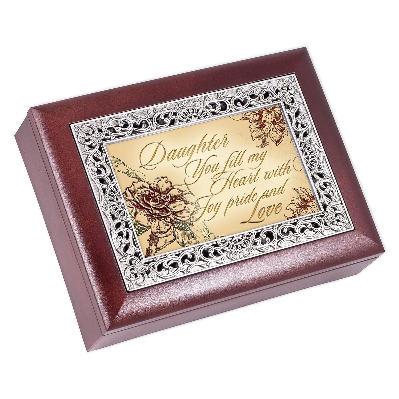 割引発見 [コテージ ガーデン]Cottage Tune Garden Daughter Rosewood Finish with Wonderful Silver 4580640 Inlay Jewelry Music Box Plays Tune Wonderful World 4580640 [並行輸入品] B00P1QMM9K, 藤代町:dc344fc7 --- arcego.dominiotemporario.com