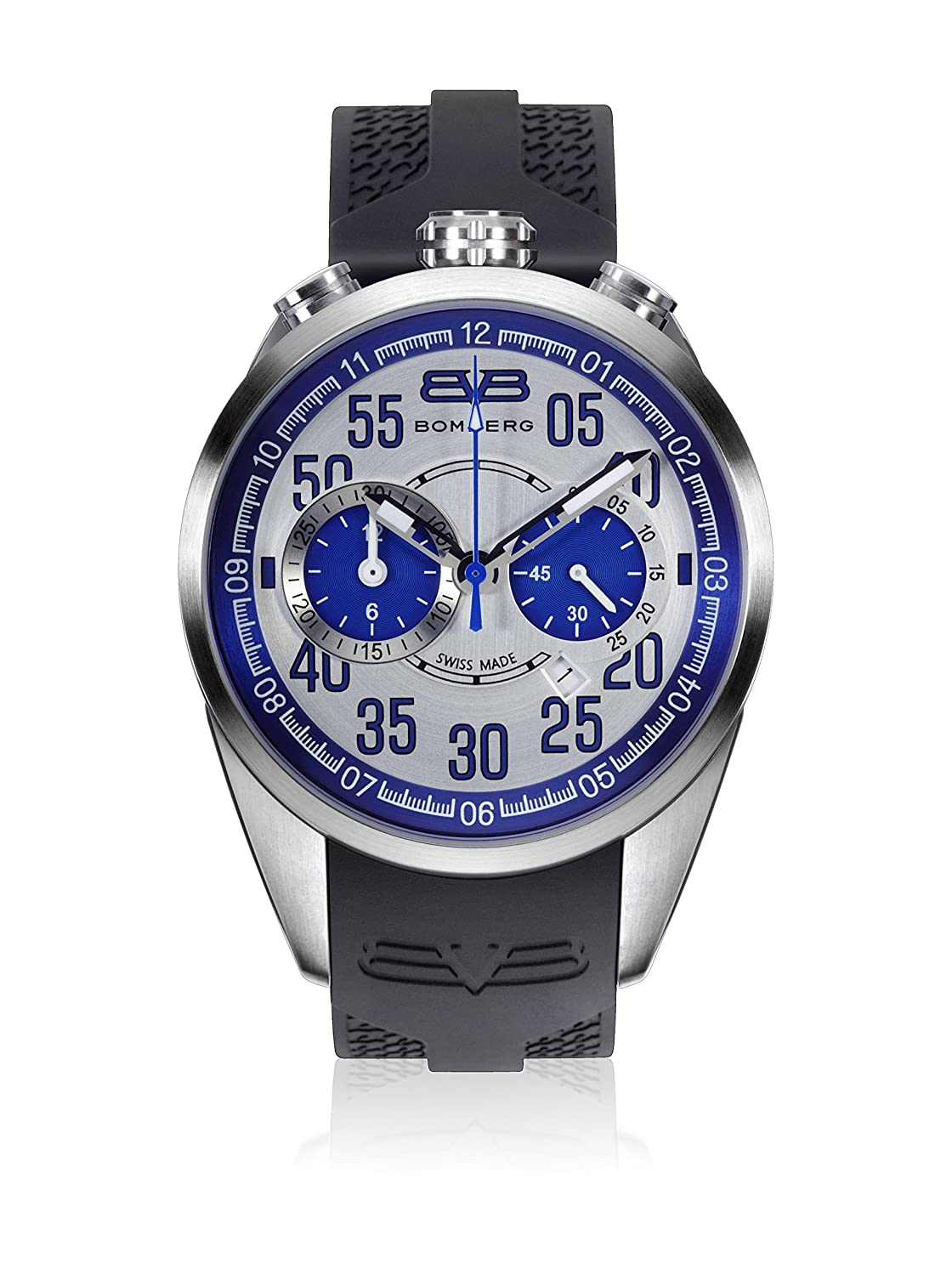 Bomberg NS44CHSS.0078.2 1968 collection Uhren - Swiss Made - 44 mm