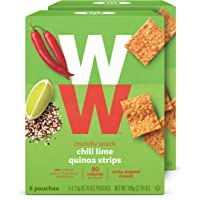 WW Chili Lime Quinoa Strips - 2 SmartPoints - 2 Boxes (10 Count Total) - Weight Watchers Reimagined