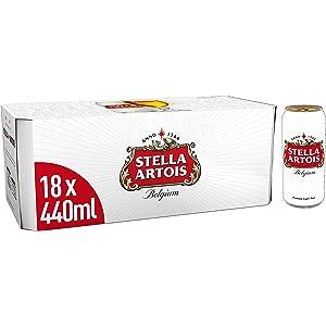 Stella Artois Lager, 18 x 440 ml
