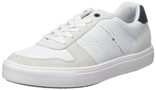 Tommy Hilfiger Lightweight Material Mix Sneaker, Zapatillas para Hombre: Amazon.es: Zapatos y complementos