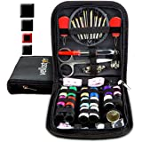 SEWING KIT - Tackle Any Emergency Clothing Repairs w/This Highly Rated Mini Mending Sew Storage Set for Kids & Adults   Small, Basic, Beginner Travel Kits w/Thread & Needles Supplies & Accessories