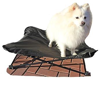 Glenndarcy Dog Pants Cama para Perro Grande y portátil, Acolchada, Plegable, Estilo Hamaca, Color Negro: Amazon.es: Productos para mascotas