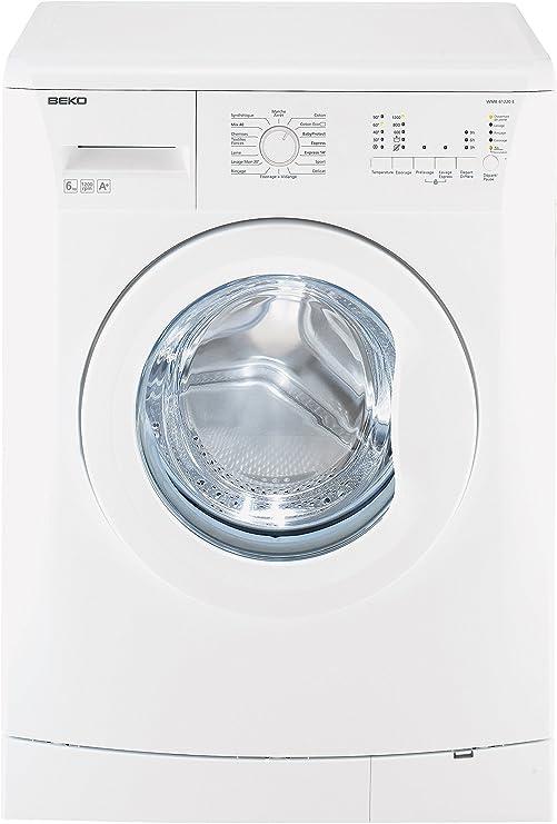 Beko WMB61220E Independiente Carga frontal A+ Blanco lavadora ...