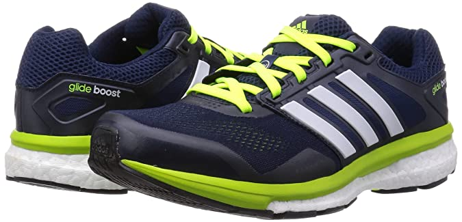 30cebea4a60af Adidas Men s Supernova Glide Boost 7 M Blue