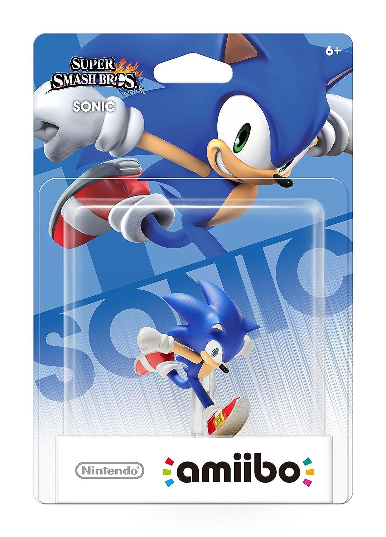 Sonic Amiibo Super Smash Bros Series Amiibo Sonic Video Games