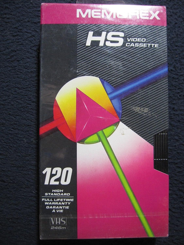 Memorex HS-T120 Recordable VHS Cassette Tape