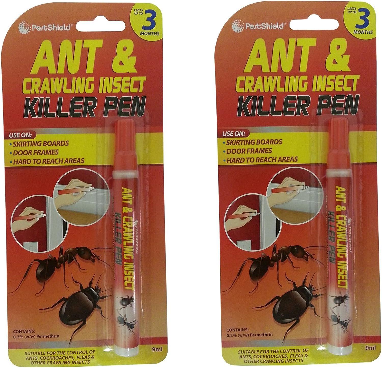 2 marcadores de Pestshield para eliminar hormigas, cucarachas ...