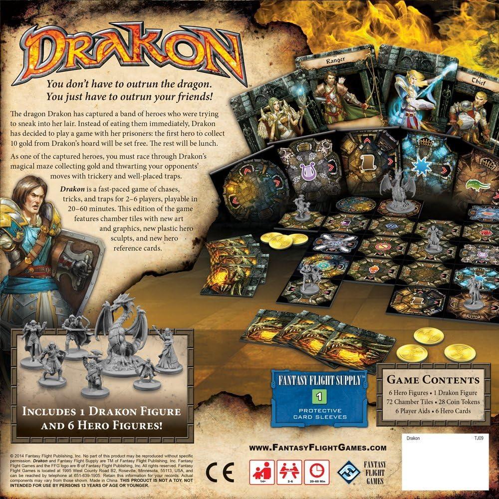 Drakon Board Game: Fantasy Flight Games: Amazon.es: Juguetes y juegos