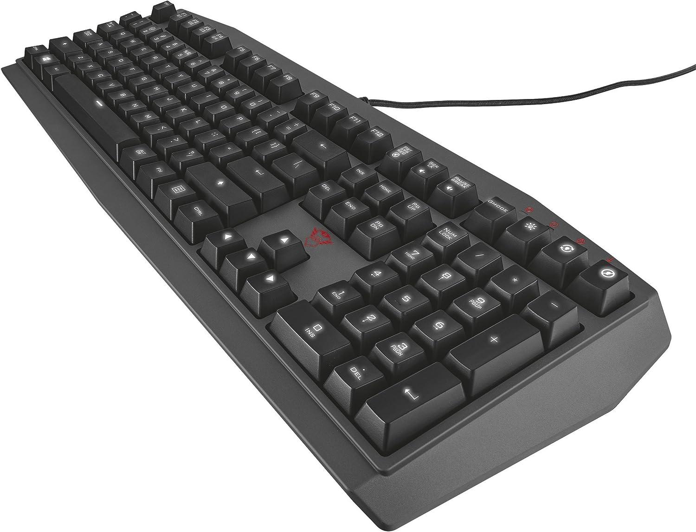 Trust GXT 880 - Teclado mecánico Gaming con Teclas de ...