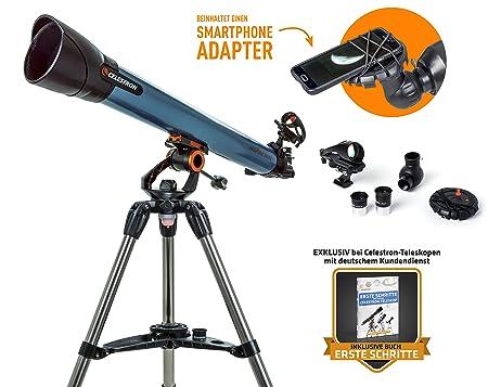 Celestron inspire az teleskop refraktor amazon kamera