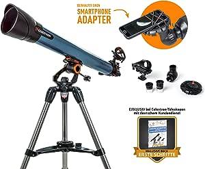 Celestron Inspire 70AZ - Refractor telescópico 70/700 con soporte ...