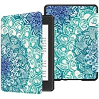 TERSELY Slimshell Case for All-New Kindle (10th Generation, 2019 Release), Premium Smart Shell Cover Protective PU Leather Cover with Auto Sleep/Wake for Amazon Kindle 2019 E-Reader Emerald Green
