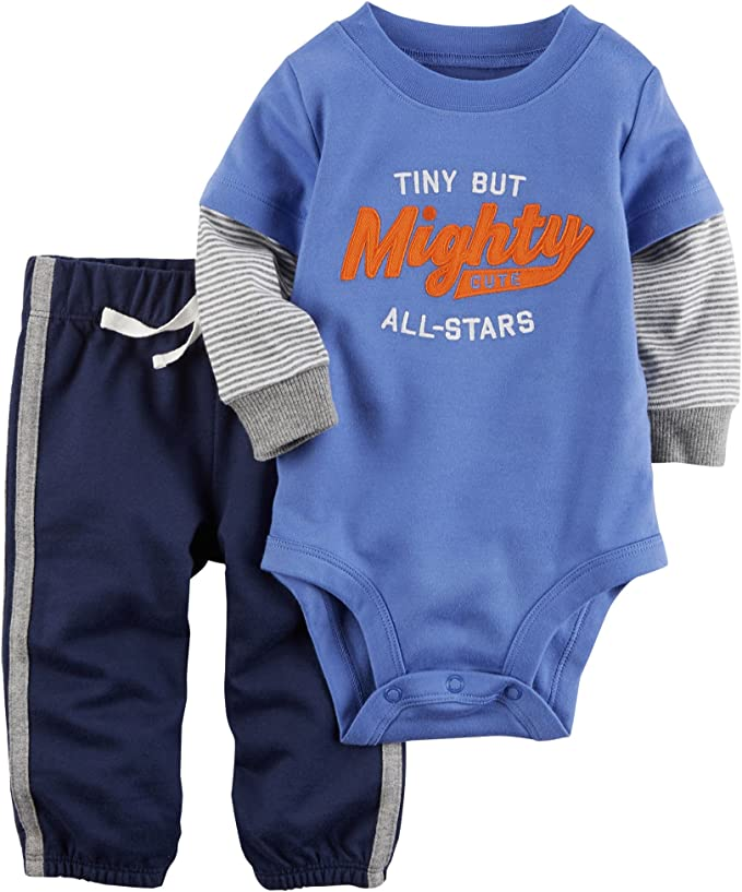 Twin Tiny But Mighty Bodysuit Set