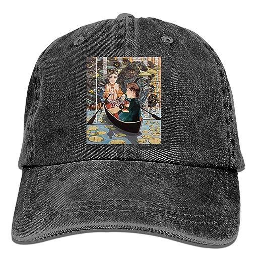 Baseball Cap-Ruth and Naomi Crossing The Jordan Cowboy Hats for Mens ... 6c0248843c6