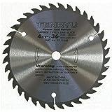 "Tenryu PT-11536 4-1/2"" Carbide Tipped Saw Blade ( 36 Tooth ATAF Grind - 3/8"" Arbor - 0.063 Kerf)"