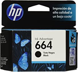 Cartucho original de tinta negra HP 664 Advantage (F6V29AL)