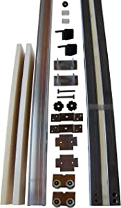 1000 Series Pocket Door Frame Kit- with KN Crowder and Hardford Building Products Hardware - for 2 x 4 (24 inch x 80 inch)