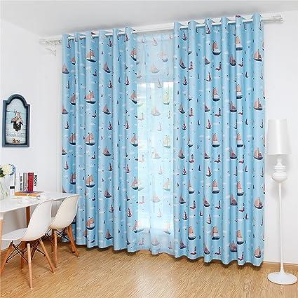 bgment con niños impreso opaco cortinas para dormitorio ...