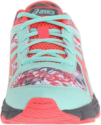 Zapatillas de running Gel-Noosa Tri 11 GS (Ni?o peque?o / Ni?o grande), Blanco / Rosa diva / Menta, 6 Big Kids de Estados Unidos: Amazon.es: Zapatos y complementos