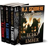 The NightShade Forensic Files: Vol 1 (Books 1-4): Under Dark Skies, Fracture Five, The Atlas Defect, Echo and Ember