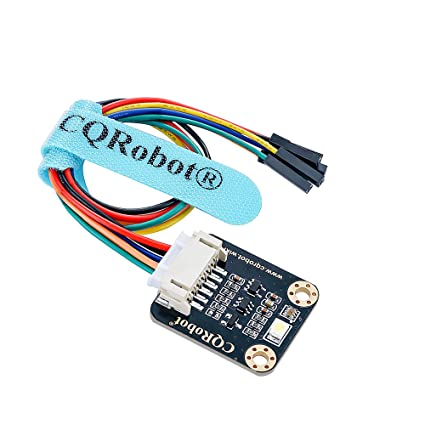 CQRobot Raspberry Pi/Arduino / STM32 TCS34725FN RGB Color Sensor  I2C  Interface, Output RGB Data and Light Intensity Table  for Ambient Light  Test,