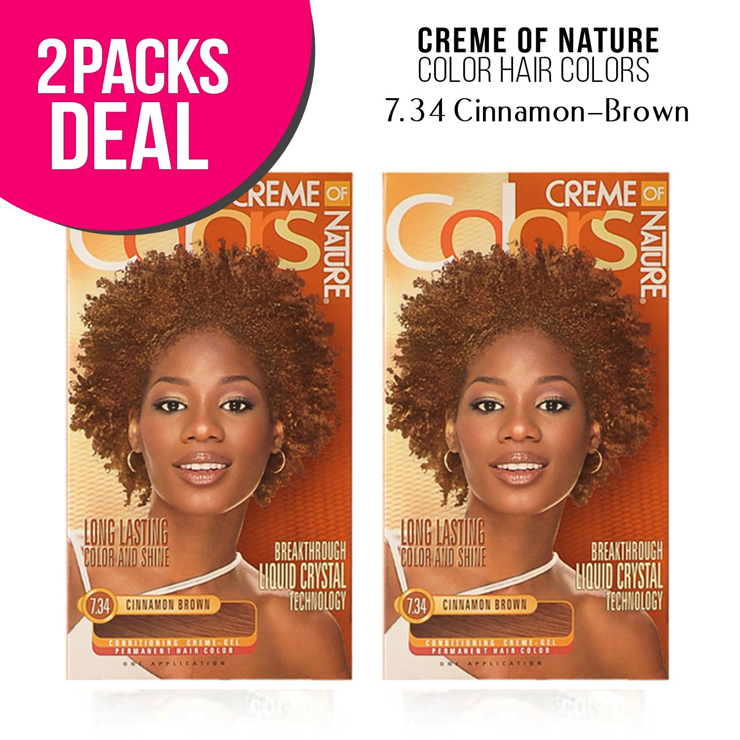 Amazon Creme Of Nature Color Hair Colors 2 Pack 734