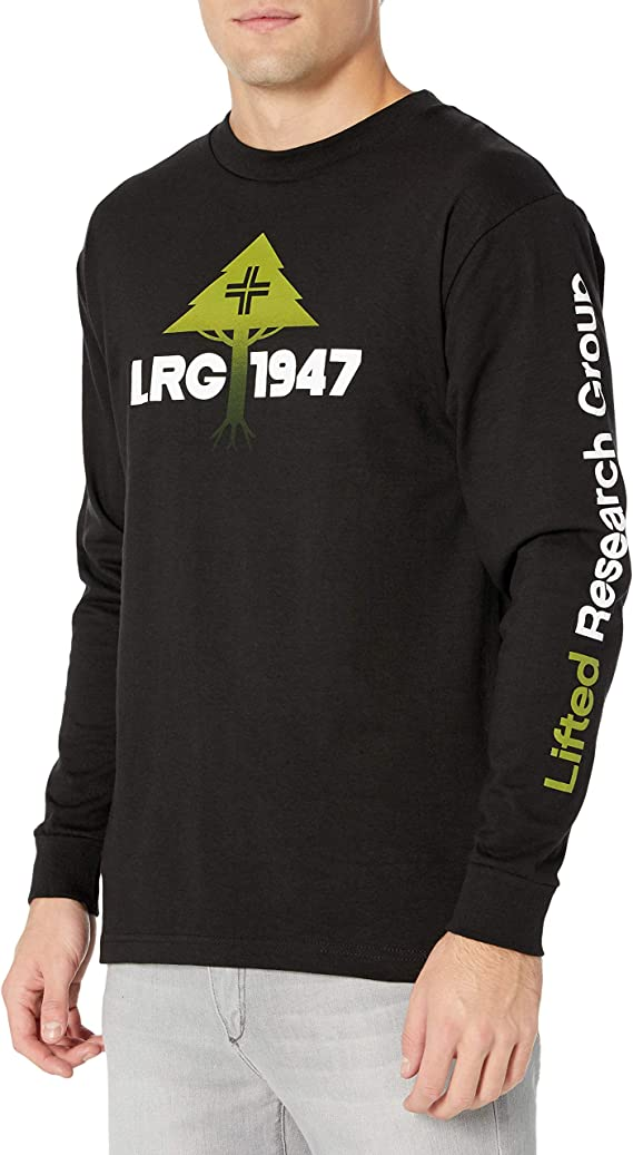 Men/'s LRG Lifted Research Group Greetings From Destination Nowhere T Shirt 3XL