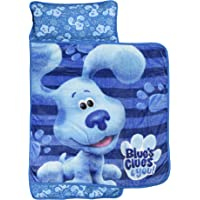 Nemcor Blue Clues Nap Mat for Toddlers, Boys and Girls, Built-in Pillow and Blanket with Carry Handle for Daycare…