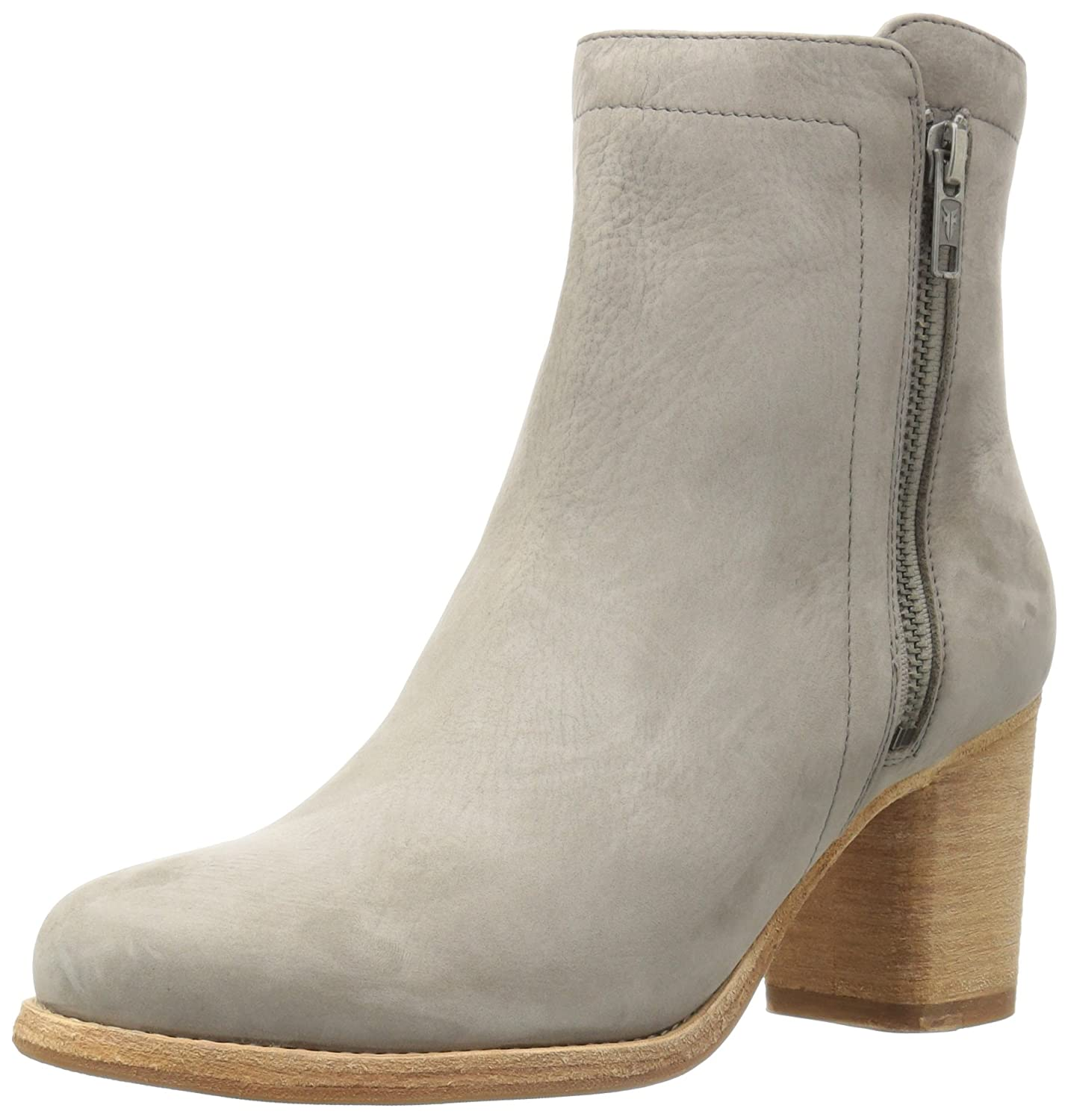 FRYE Women's Addie Double Zip Boot B01H4X7LES 9 B(M) US|Grey