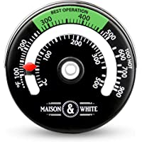 Magnetic Stove Thermometer | Fire Place Temperature Monitor | Increase Efficiency and Optimise Fuel Consumption | Pukkr