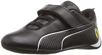 23678dcd80d1f0 PUMA Baby Ferrari Future Cat Ultra Velcro Kids Sneaker Black White